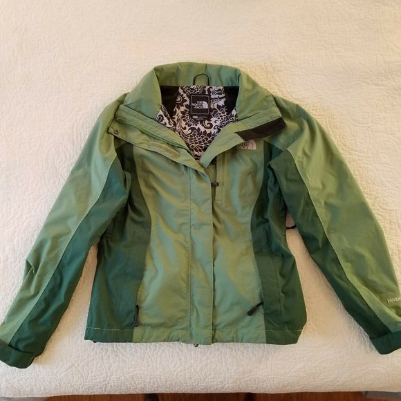 North Face Womens Green Varius Guide Jacket XS